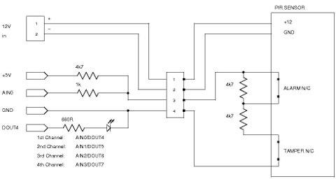 Automation Sensors Schematic