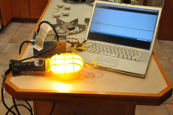 Dimmer using an Arduino -Use Arduino for Projects