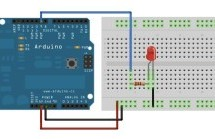 Fading an LED off and on using Arduino