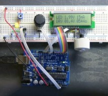 LED Calculator with Rotary Quadrature Encoder for Target System Voltage Selection using Arduino
