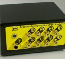 Oscilloscope / Logic Analyzer using Arduino