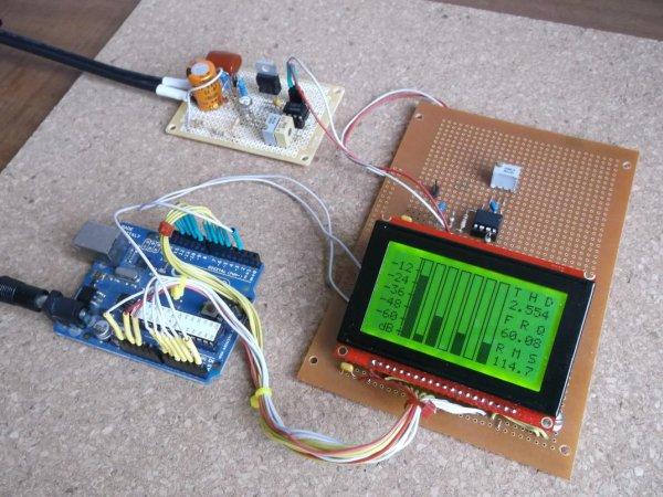 Power Meter using Arduino