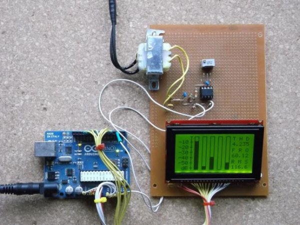 Power Quality Meter Using Arduino Use Arduino For Projects