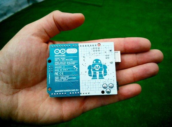 Rome Ambassador kit with an Arduino Uno