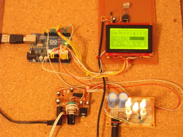 True Analog Audio Volume Control using Arduino