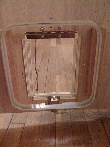 arduino RFID cat door