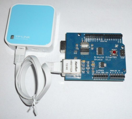 A cheap WiFi interface for Arduino