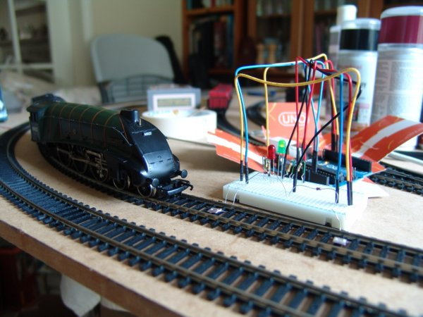 An Arduino Powered (Scale) Speed Trap