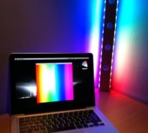 An Arduino-controlled RGB lamp