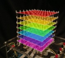 Self-Contained 7x7x7 LED Cube using Arduino