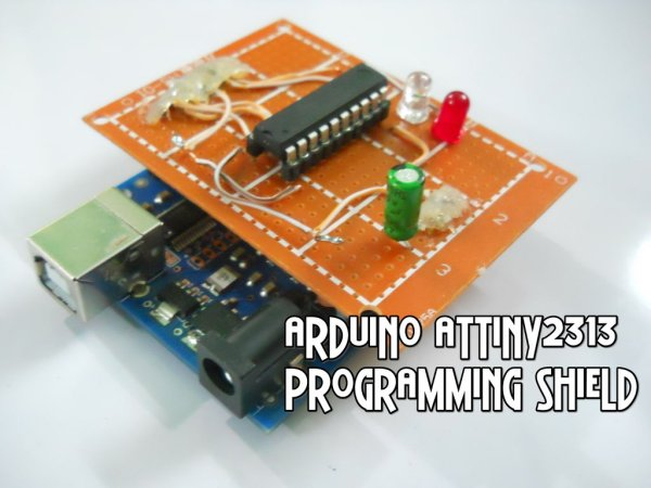 Arduino ATtiny2313 Programming Shield