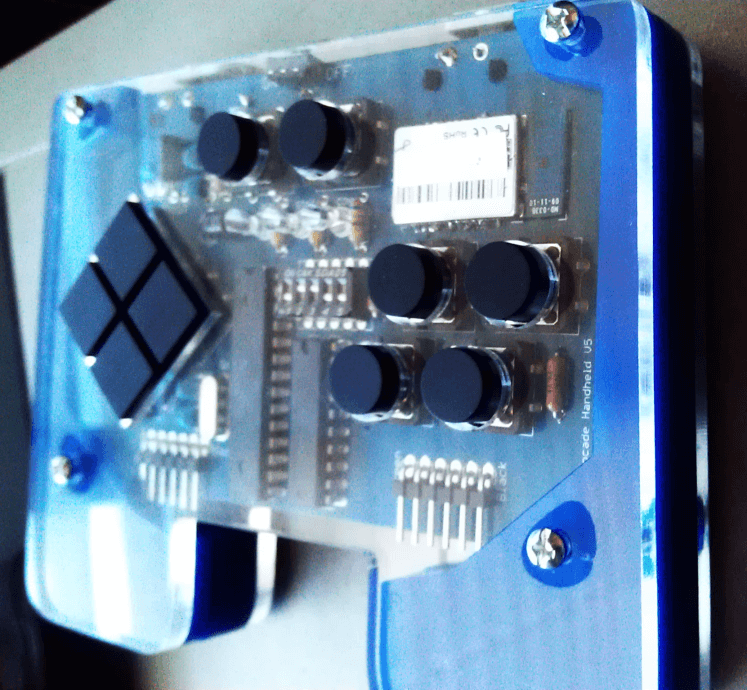Arduino Based Handheld Bluetooth Game Controller