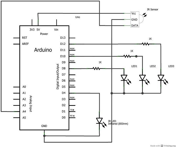 Arduino Computer Architecture Schematic