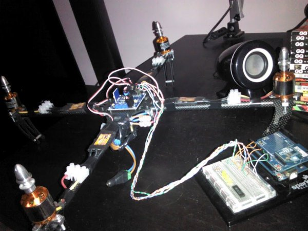 Arduino - Tutorial Building A Drone With Webcam Remote Control From PC Through CSharp
