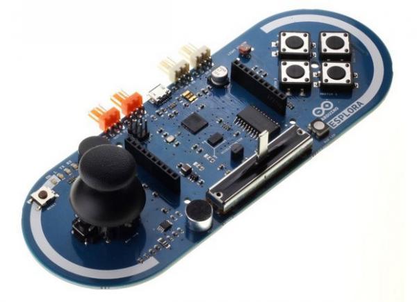 Arduino Esplora Accelerometer