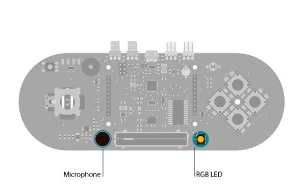 Arduino Esplora Microphone circuit