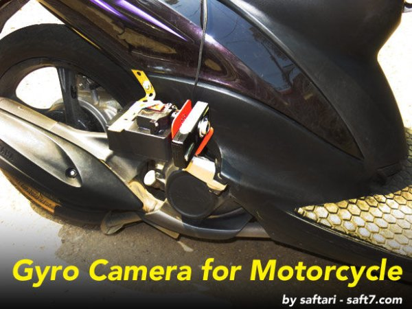 Gyro Camera for Motorcycle using Arduino