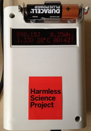 Arduino Measuring Battery Capacity