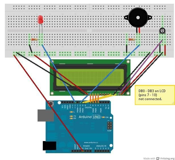 Arduino Morse Code Shield circuit