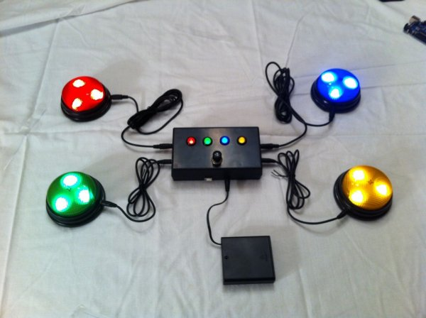 Quiz Game Controller Using Quot Lights And Sounds Buzzers Quot And