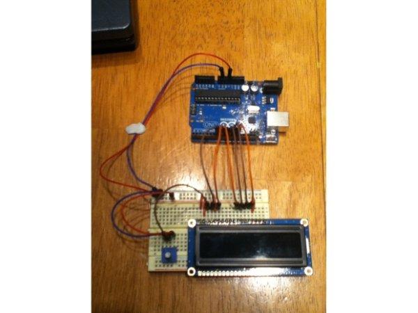 Arduino RGB Liquid Crystal Display