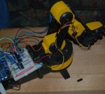 Modifying a Robot Arm using Arduino