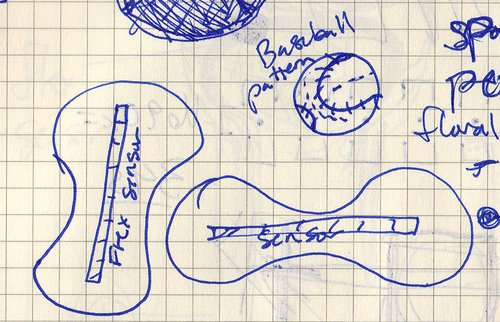 Arduino Sensing Squeeze schematic