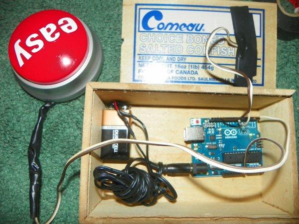 Arduino Super Amazing Button Connection