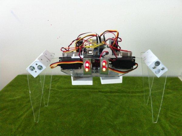 Arduino T.A.B.U. A Robot