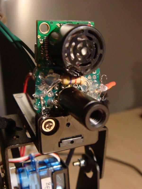 Arduino Thermal Camera circuit