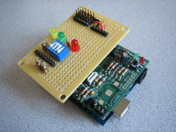 Arduino based data logger
