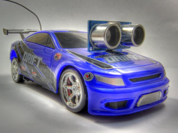 Arduino controlled RC car