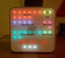iTime clock in a Mac Mini box using Arduino