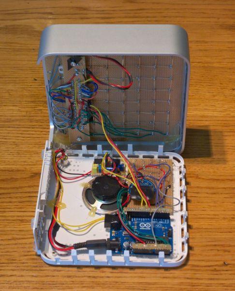 Arduino iTime clock circuit