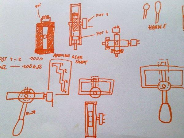 Cheap working homemade arduino joystick circuit