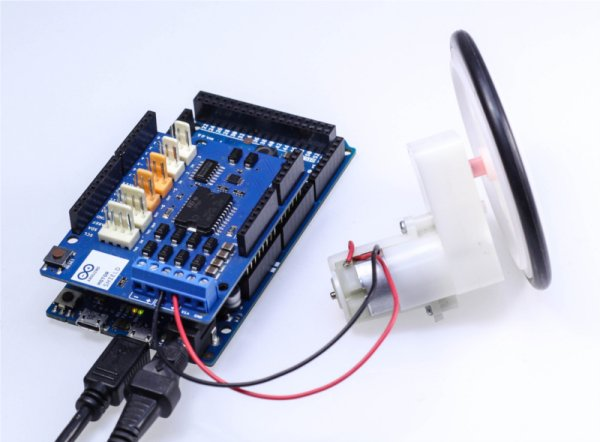 Drive a DC Motor With Arduino DUE