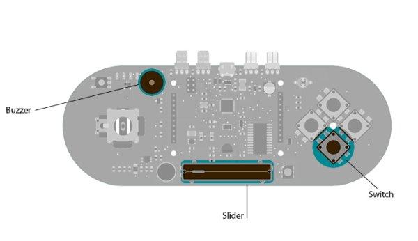 Play Music using Arduino Esplora circuit