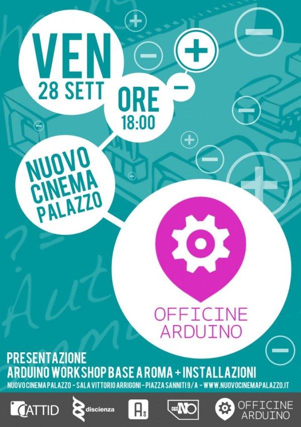 Presentazione di Arduino al Cinema Palazzo