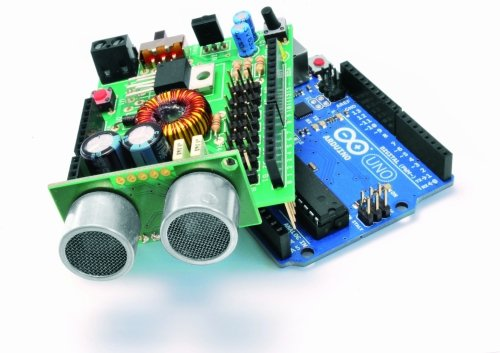 An open robot shield for Arduino