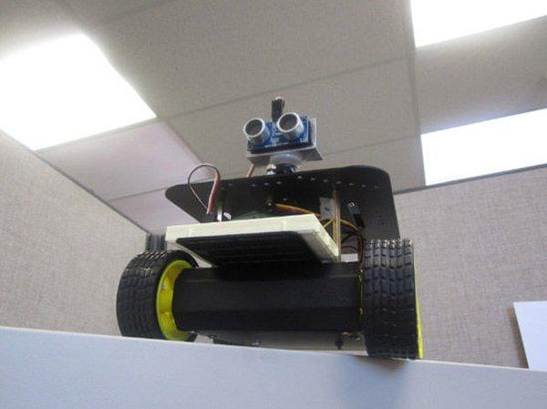Arduino 4wd robot with ping sensor J-Bot