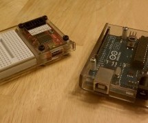 Clear polycarbonate enclosures using Arduino