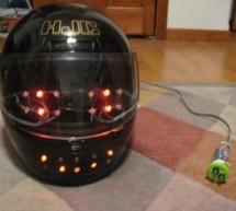 Emoticon Helmet using Arduino