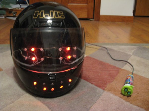 Arduino Emoticon Helmet