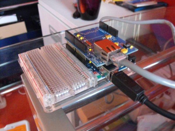 Arduino Flash game streamer