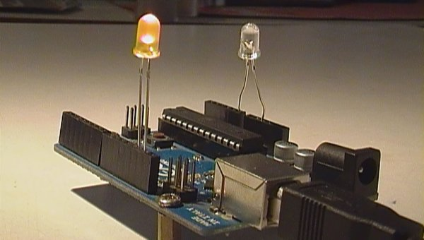 Light Sensing LEDs using Arduino