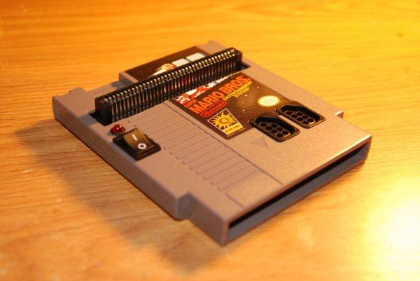 Arduino NES in a Cartridge