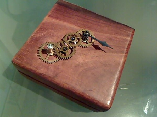 Steampunk Compass using Arduinio