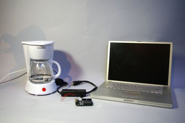 Arduino Twitter Enabled Coffee Pot