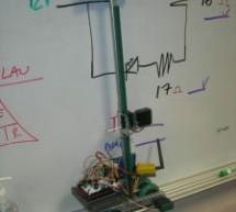 Whiteboard Erasing Robot using Arduino