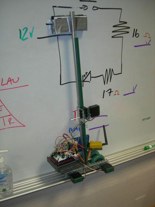 Arduino Whiteboard Erasing Robot